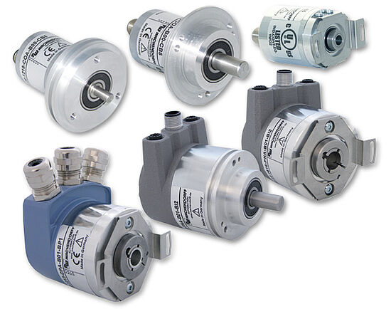 Absolute Drehgeber Gruppe - absolute encoders group
