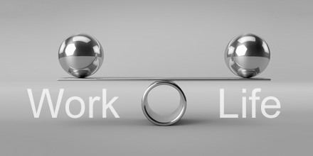 karriere work life balance button
